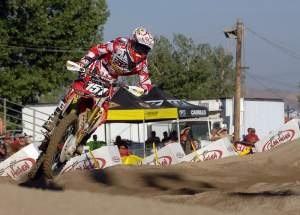 Barcia set a blistering pace in both 250 motos