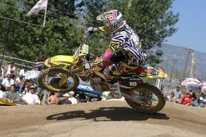 Ryan Dungey picked things up where they ended last season