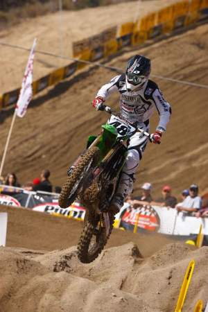 T-Hahn was great, better than I thought he would do. Check out pulpmx.com for an interview with the Texas Tornado.