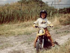 It all started with motocross.