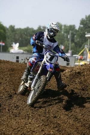 Doug Dubach won all six of his motos to win the 35+ and 40+ classes
