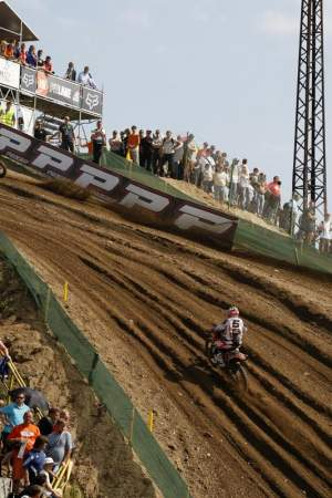 Rui Goncalves was second in MX2