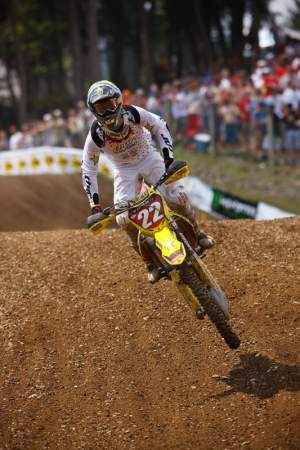 Chad Reed could wrap up the 450 championship next week live on NBC