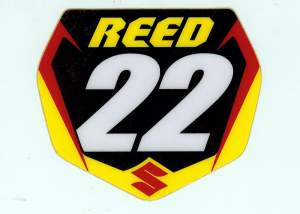 Suddenly a collectors item! Get your free Chad Reed sticker before they're gone.