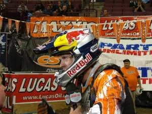 Aaron won his first EnduroCross of the year.