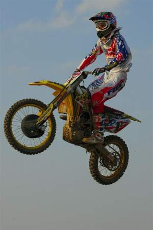 Ryan Dungey apparently had no trouble adapting to the Suzuki 450.