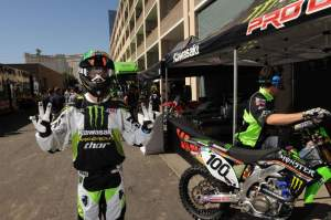 Hanny in full Monster Energy PC get-up. He's back and for what has to be the last time. If Mitch can't figure out what makes him tick, no one can.