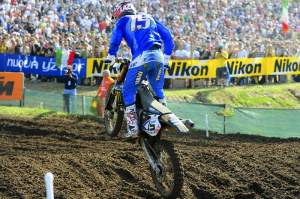 David Philippaerts did Italy proud in the MX3 moto by winning that heat to help Italy qualify first.