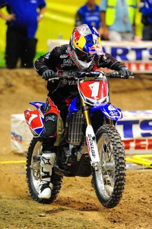 Stewie won on the new 2010 YZ450F. The bike looked good, he looked good, his gear looked good, Larry Brooks looked good, Raddo looked good, Sorby looked good...you get the idea.