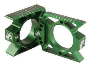 Honda, Suzuki, Kawasaki and Yamaha axle blocks - Price: $39.95