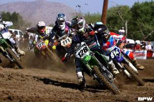 Wilson grabs a holeshot over Dan Reardon, Michael Sleeter, Chris Blose, and more.