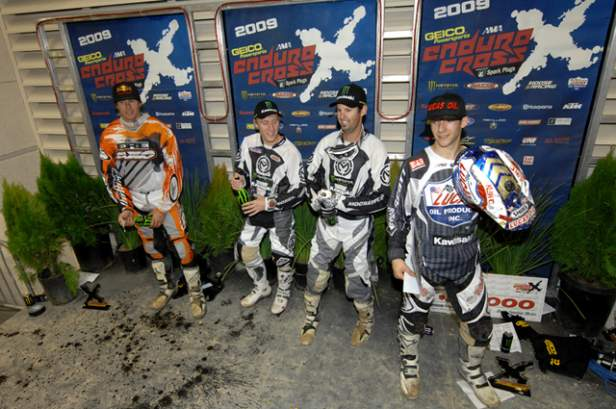 Endurocross Podium