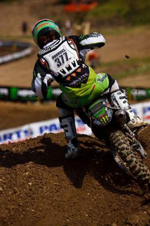 Pourcel won 13 of 24 motos in 2009.