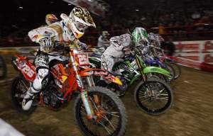 Marvin Musquin lined up at Bercy aboard a 250F.