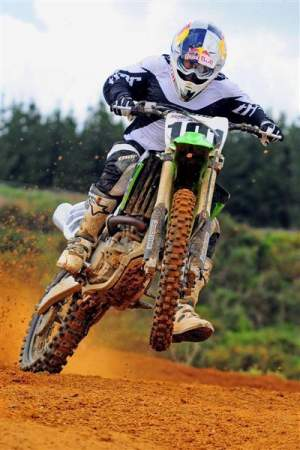Ben Townley raced last weekend in New Zealand.