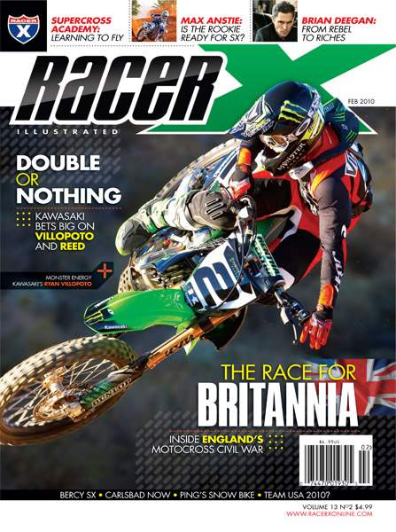 The February 2010 Issue - Racer X Illustrated Supercross Magazine