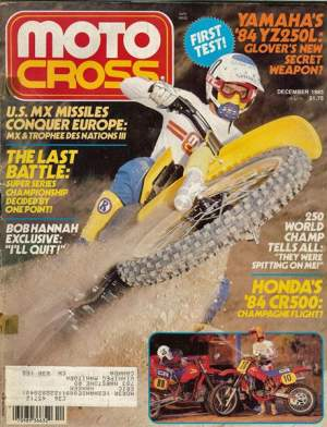 Welcome to the Matthes look-back at this issue of Motocross Magazine. Odd cover choice for sure and weird dirt as well. Looks like the Vancouver SX a few years ago.