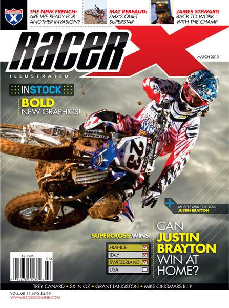 The March 2010 Issue - Racer X Illustrated Supercross Magazine
