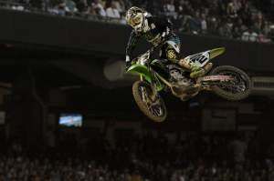 Ryan Villopoto was second in the main event.