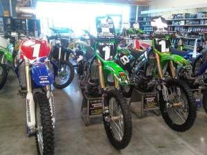 The bikes that were stolen.