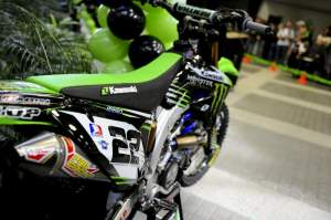 Chad Reed's factory KX450F.
