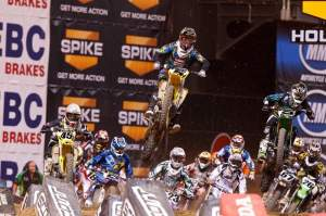 Dungey and Villopoto got the starts and poured it on from there.