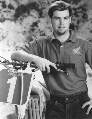 The King of Supercross, Jeremy McGrath.