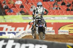 Justin Brayton is on the verge of a podium.