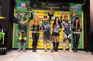 Ryan Villopoto took his first win of 2010 in the city by the Bay.