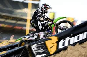 Ryan Villopoto was fastest overall in practice, the only rider with a lap under a minute long at 59.571 seconds.