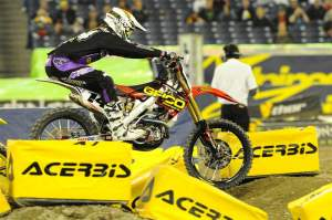 Kevin Windham was also on top of the board occasionally and he was fourth-fastest.