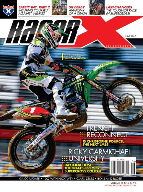 The June 2010 Issue - Racer X Illustrated Motocross Magazine