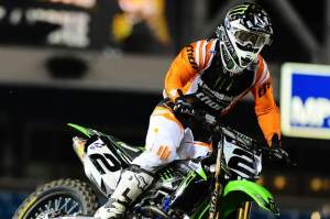Ryan Villopoto chalks up another AMA Supercross win.