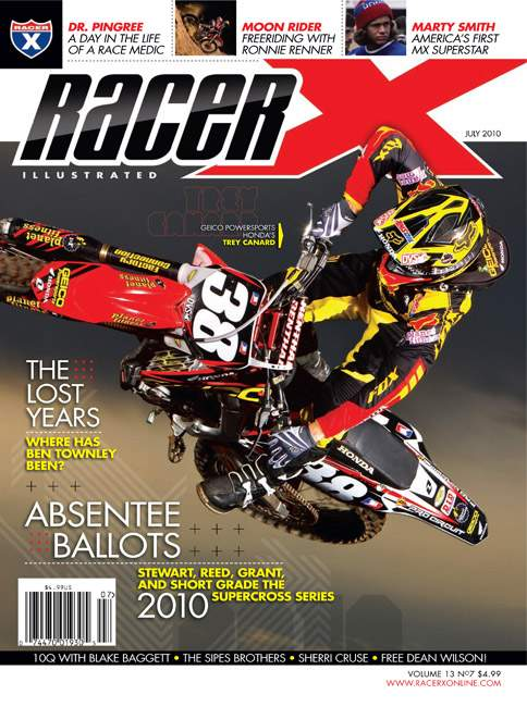 The July 2010 Issue - Racer X Illustrated Motocross Magazine