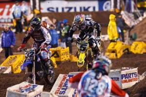 Ryan Dungey had a rough night in Salt Lake.