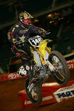 Schnell at the Atlanta Supercross.