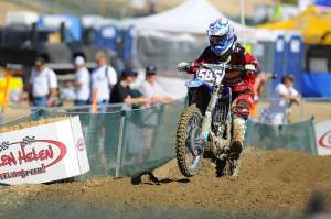 Props to MotoConcepts Yamaha's Travis Baker for putting in a great ride in MX2 at Glen Helen.
