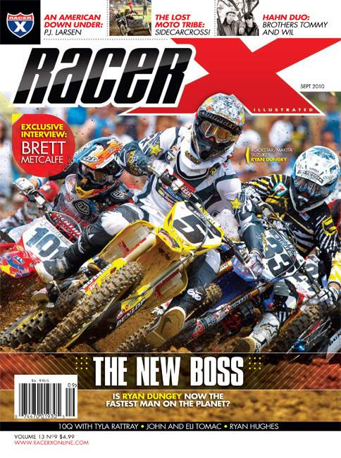 The September 2010 Issue - Racer X Illustrated Motocross Magazine