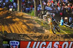 Dungey will carry the number one throughout 2011.