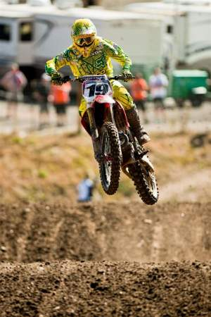 Brett Metcalfe may have ridden his last race on a Honda at the MXoN.