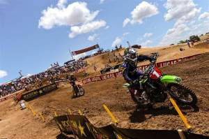 Chad Reed's one professional high point was his win at the Hangtown outdoor opener.