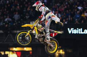 Reed has made no secret that he and the RM-Z450 he raced in 2009 got along very well. He was 2nd in the SX championship and 1st outdoors on it.