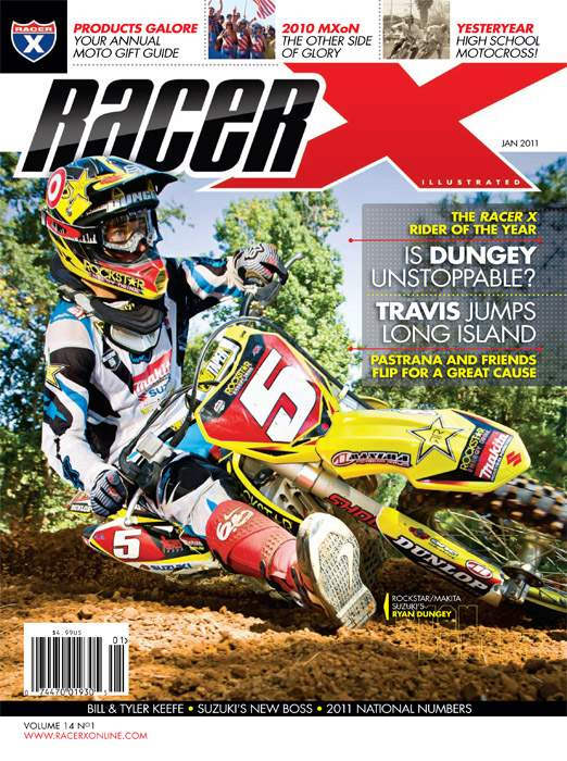 The January 2011 Issue - Racer X Illustrated Supercross Magazine