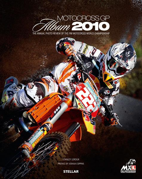 Motocross GP Album 2010 - Couverture