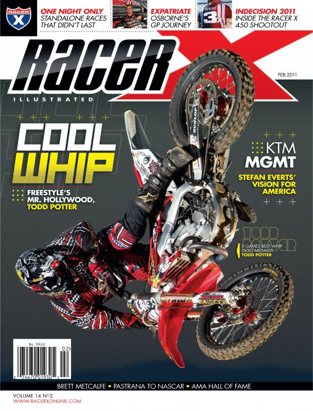 The February 2011 Issue - Racer X Illustrated  Magazine