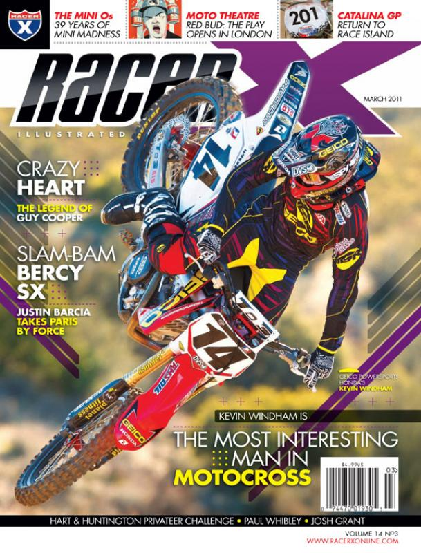 The March 2011 Issue - Racer X Illustrated  Magazine