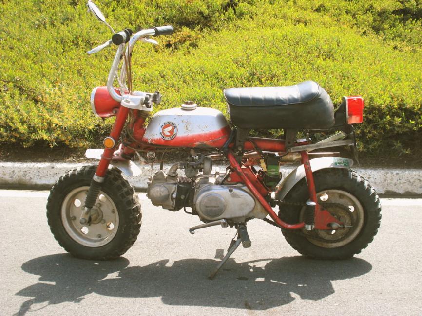 Kawasaki   Minitrail