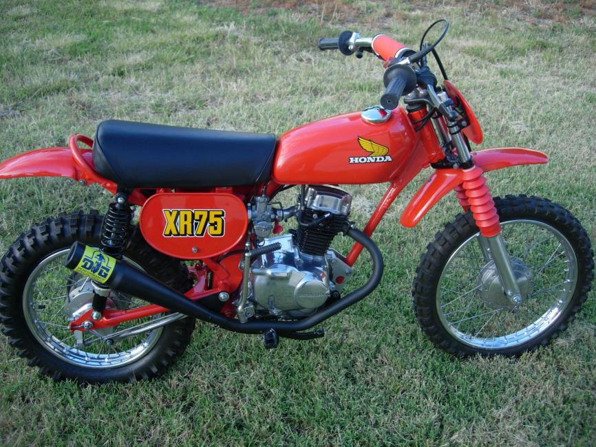 Your Collection: 1976 Honda XR75 RC Replica - Racer X Online