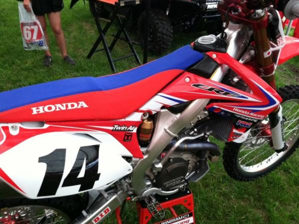 Throttle Jockey makes July 4th Graphics for Honda Racing