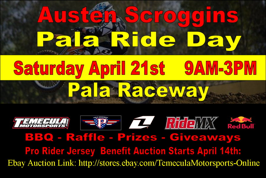 Austen Scroggins Ride Day
